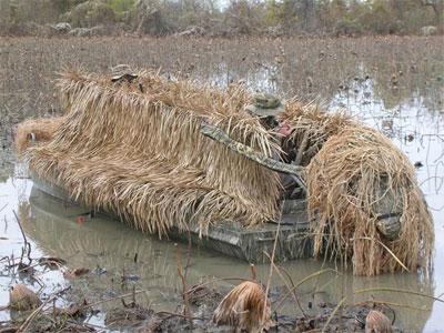 Fastgrass Boat Blind