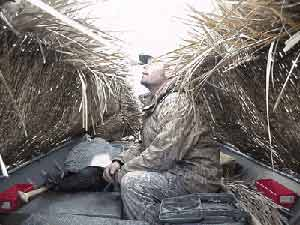 Universal Fit Fast Grass Boat Blind For Duck Goose Hunting