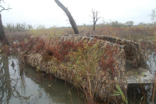 Blind Material For Boat Waterfowl Hunting Ducks