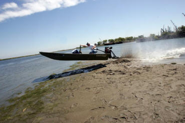 Mud motor duck boat all boats for Best mud motor on the market